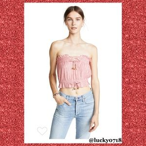 Free People We The Free EUC Peppermint Tube Top S